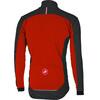 Castelli Mortirolo 4 Jacket Men red/black